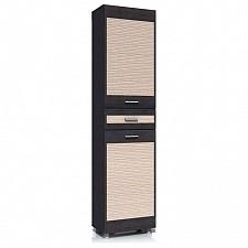 Шкаф для белья Капри НМ 014.05 ЛР