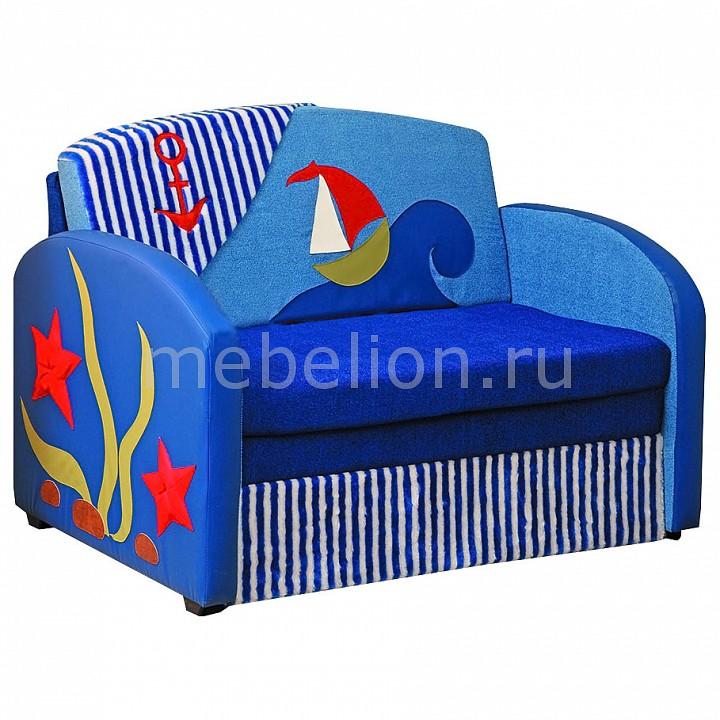 Купить Диван-кровать Мася-9 Кораблик 8191127 синий, Олимп-мебель, Россия