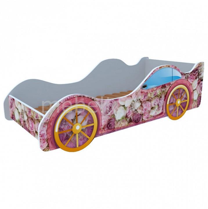 Кровать-машина Пионы M035