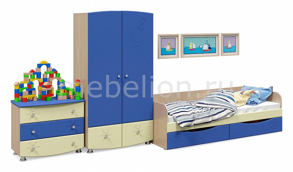Гарнитур для детской Капитошка  купить детскую кроватку и пеленальный комод
