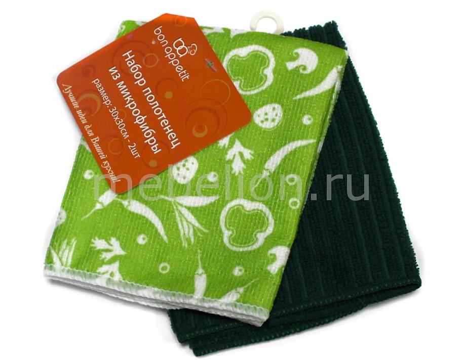 Салфетка Bon Appetit Набор из 2 салфеток Flowers скатерть bon appetit rokoko цвет зеленый 145 см x220 см