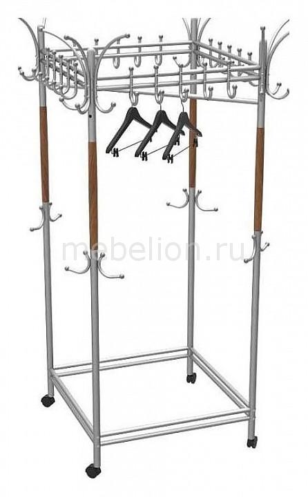 Вешалка напольная Мебелик Вешалка гардеробная Галилео 216 зеркало мебелик галилео 158 чёрный