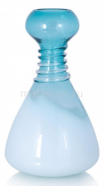 Купить Ваза настольная (32 см) Aquamarine 760190*, Home-Philosophy, Россия, бирюзовый, стекло