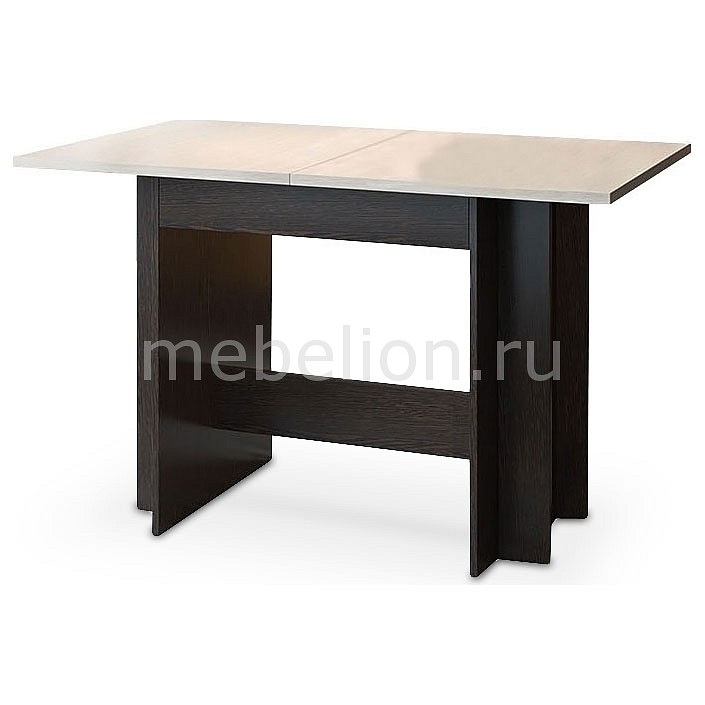 Стол обеденный Мебель Трия Кельн Т2 венге цаво/дуб белфорт тумбочка мебель трия прикроватная токио пм 131 03 см дуб белфорт венге цаво