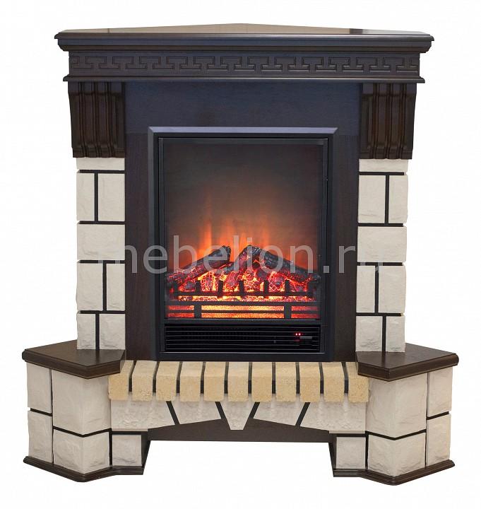 Электрокамин напольный Real Flame (121х40.5х109 см) Stone New Corner 00010010987 realflame электрокамин напольный real flame tokio белый дуб