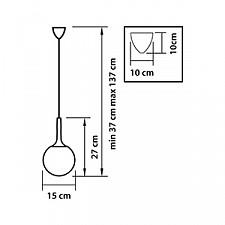 Подвесной светильник Lightstar 813012 Globo