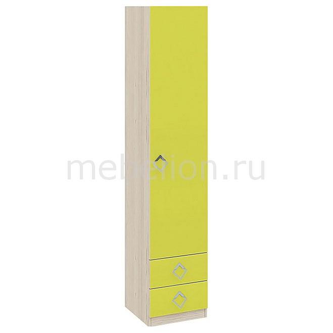 Шкаф для белья Аватар СМ-201.13.001 каттхилт/лайм mebelion.ru 7990.000