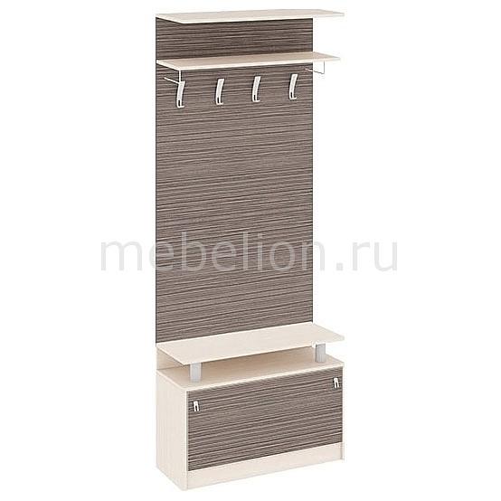 Вешалка напольная Мебель Трия Вешалка корпусная Нова 3 дуб белфорт/каналы дуба корпусная мебель