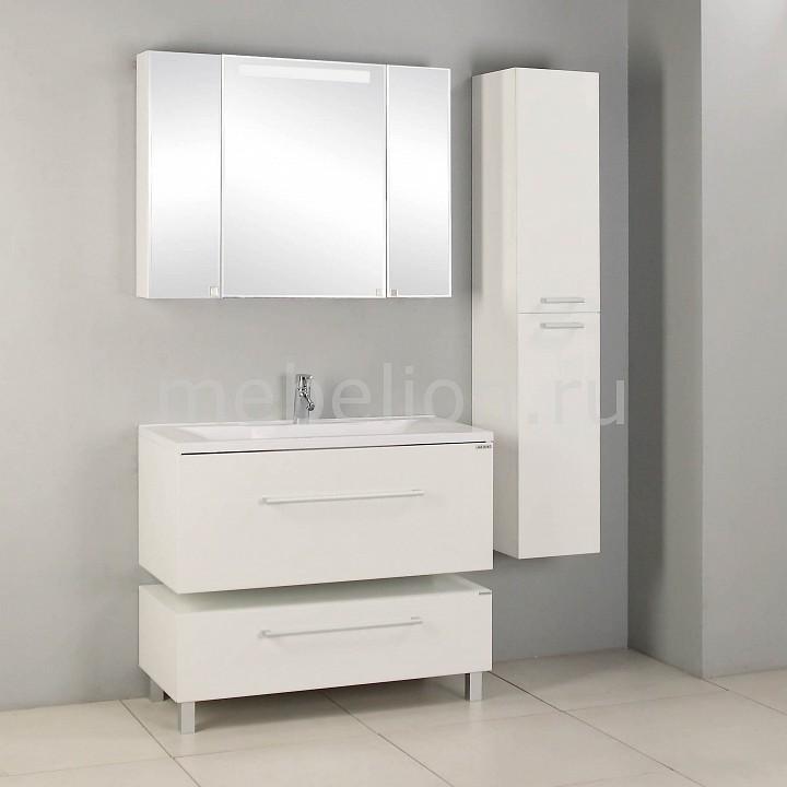 Гарнитур для ванной Акватон Мадрид 100М белый