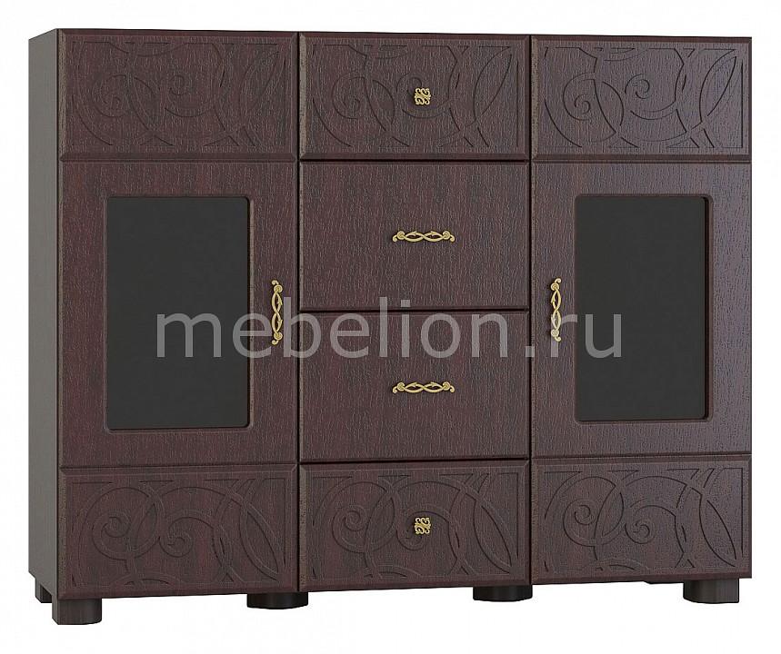 Тумба-витрина Компасс-мебель Легенда ЛГ-04