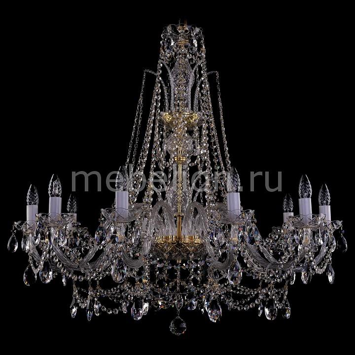 Подвесная люстра Bohemia Ivele Crystal 1411/10/360-87/G 1411