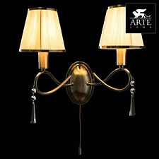 Бра Arte Lamp A1035AP-2AB Logico