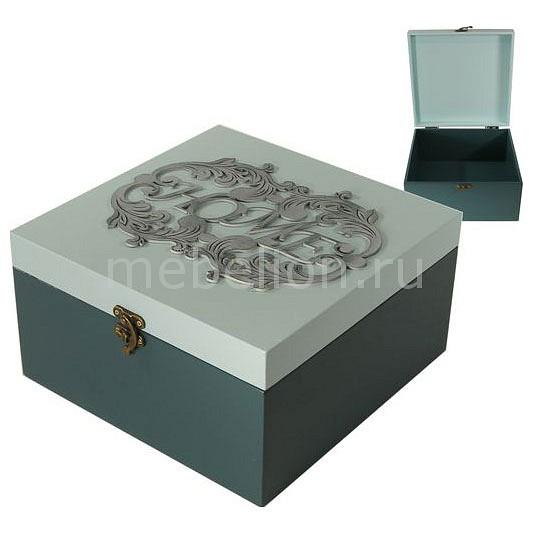 Шкатулка декоративная (24х24х13 см) AKI 1012-3