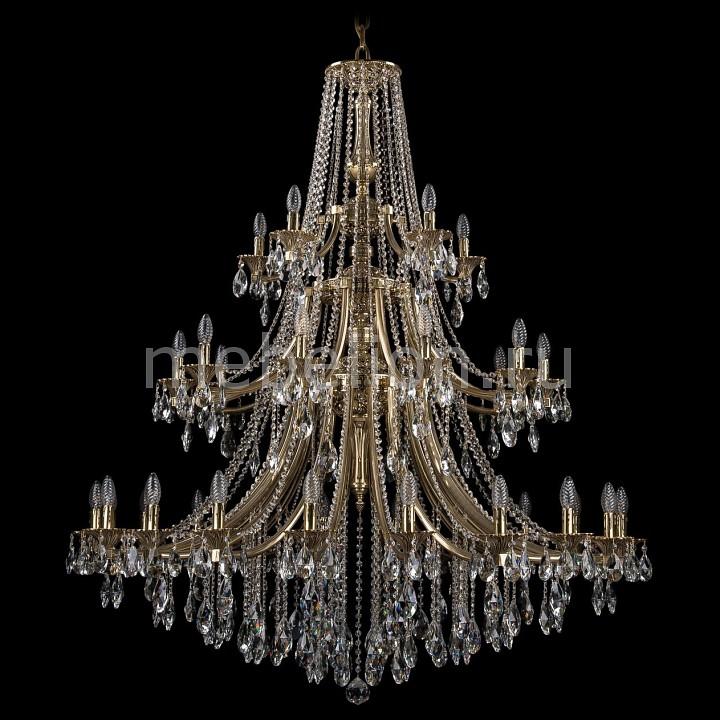 Подвесная люстра Bohemia Ivele Crystal 1771/20+10+5/490/B/GB 1771