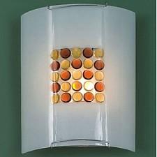 Накладной светильник Желтый Конфетти 5x5 921 CL921312