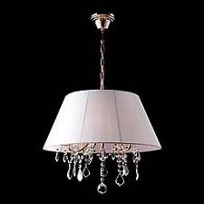 Подвесной светильник Eurosvet 3125/5 золото/белый Strotskis 3125