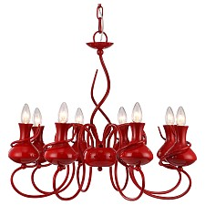 Подвесная люстра Arte Lamp A6819LM-8RD Vaso