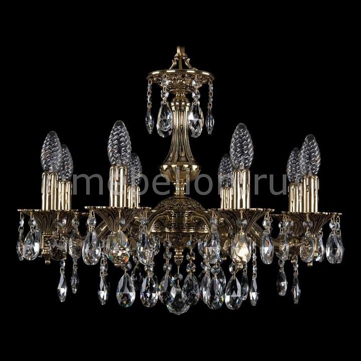 Подвесная люстра Bohemia Ivele Crystal 1710/8/160/A/GB 1710
