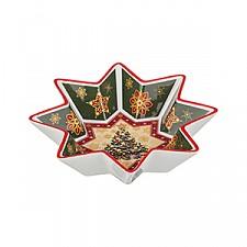 Салатник (26 см) Christmas collection 586-130
