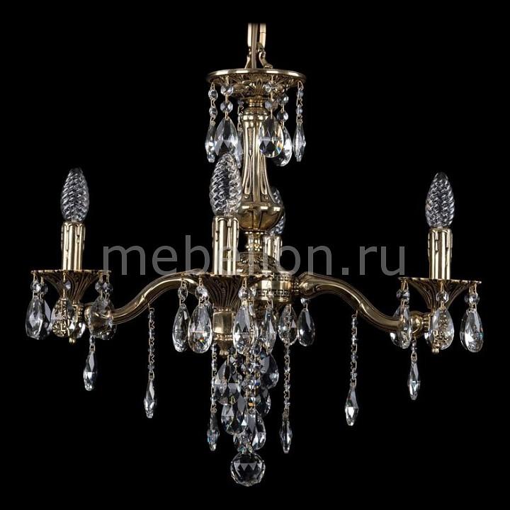 Подвесная люстра Bohemia Ivele Crystal 1710/4/160/B/GB 1710