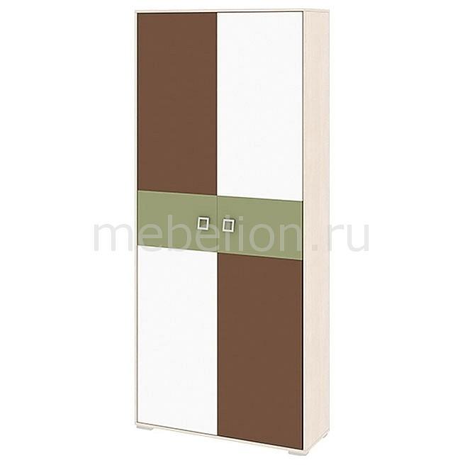 Купить Шкаф платяной Тетрис ПМ-154.18 ясень белладжио/молочный/оливковый/шоколадный, Мебель Трия, Россия