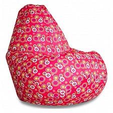Кресло-мешок Пузырьки красные II