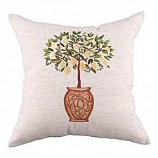 Подушка декоративная (45х45 см) Вышивка 703-691-10