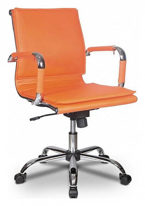 Кресло компьютерное Бюрократ Бюрократ CH-993-LOW/Orange кресло компьютерное бюрократ бюрократ ch 993 low золото
