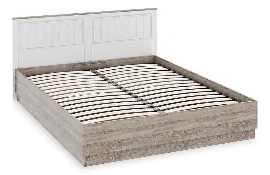 Кровать двуспальная Прованс СМ-223.01.002  прихожая с пуфиком для сидения