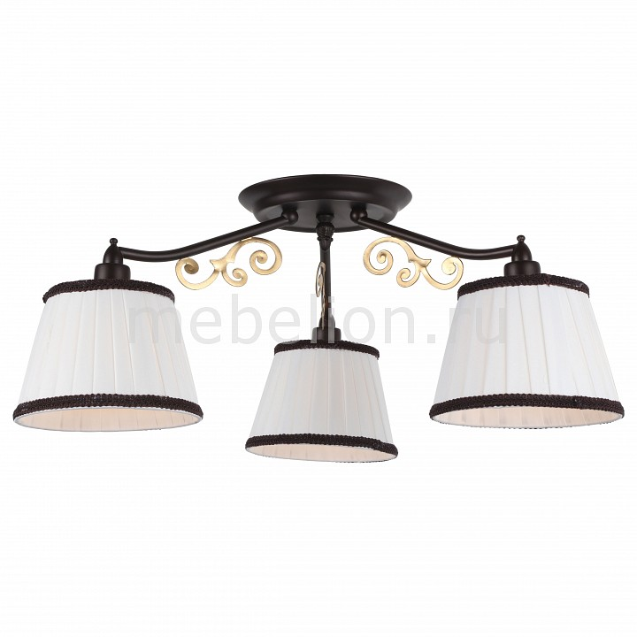 Потолочная люстра Arte Lamp Capri A6344PL-3BR