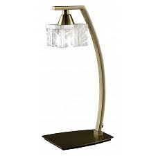 Настольная лампа декоративная Zen Antique Brass 1437