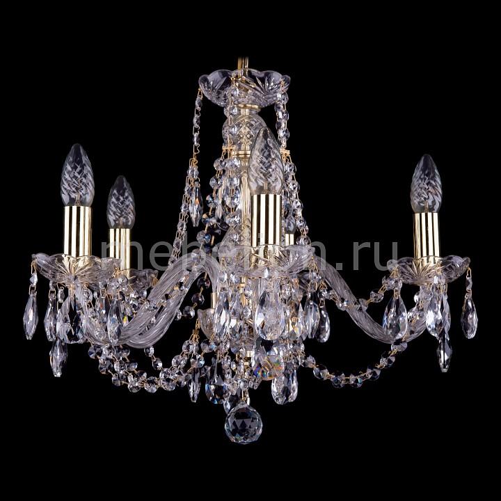 Подвесная люстра Bohemia Ivele Crystal 1406/5/160/G 1406