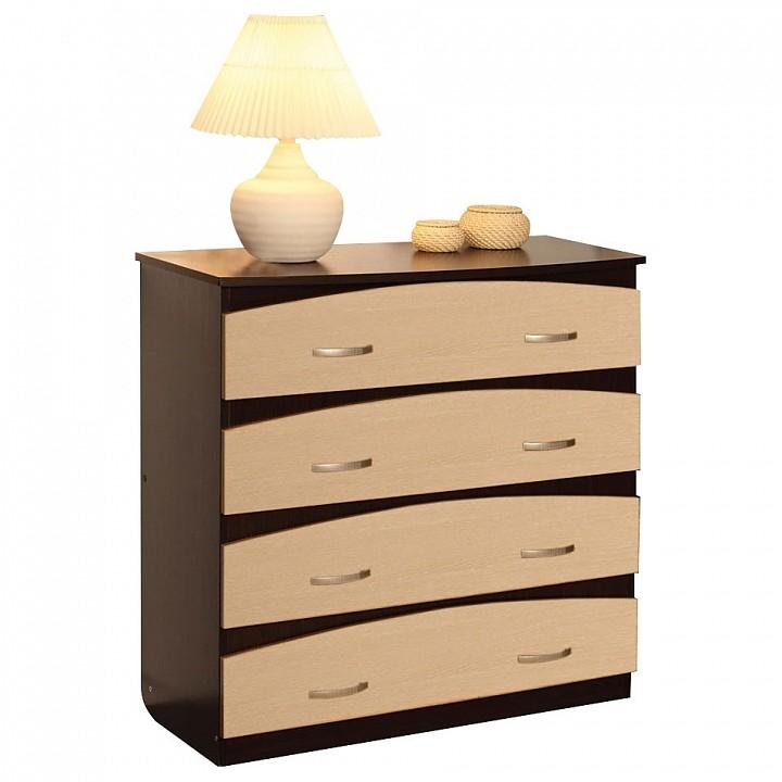 Комод Олимп-мебель Карло-М12 венге/дуб линдберг комод олимп мебель карло м12 венге дуб линдберг