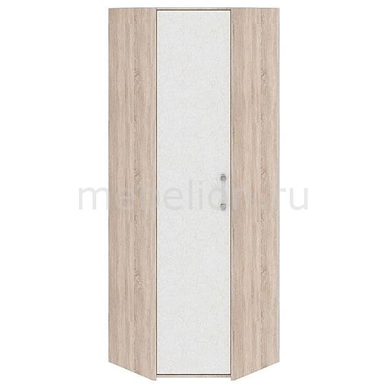 Шкаф платяной угловой Атлас ПМ-186.14 дуб сонома/хаотичные линии mebelion.ru 9490.000