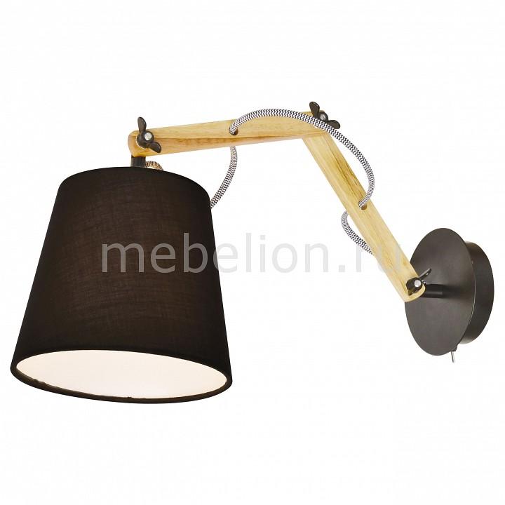 Бра Arte Lamp Pinocchio A5700AP-1BK цена 2017