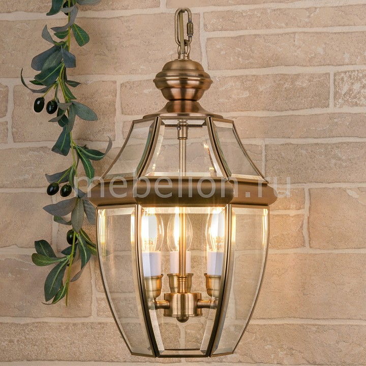 Подвесной светильник 1032 Chatel H медь