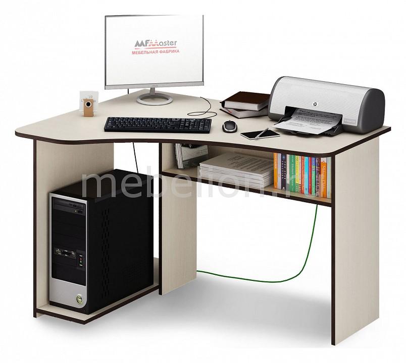 Стол компьютерный МФ Мастер Триан-1 компьютерный стол мф мастер корнет 1 угловой венге дуб молочный