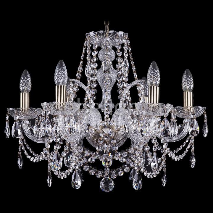 Подвесная люстра Bohemia Ivele Crystal 1411/6/195/Pa 1411
