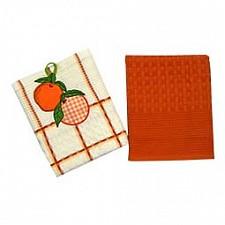 Набор из 2 полотенец для кухни Фрукты,овощи 0101310101