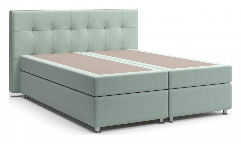 Кровать двуспальная Столлайн Николетт двуспальная кровать с матрасом столлайн парадиз 1 матрасы с независимым пружинным блоком 2 шт