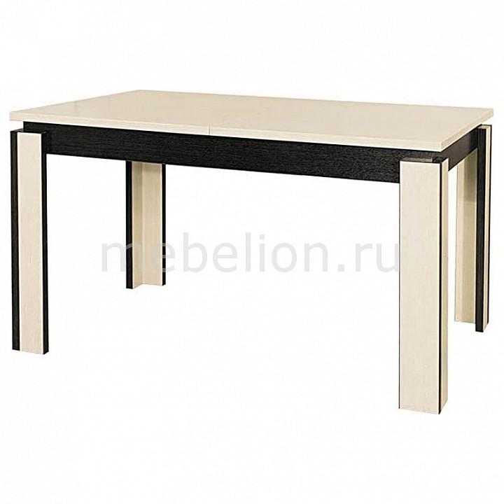 Стол обеденный Мебель Трия Диез Т6 С-310 дуб беловежский/дуб сильвер стол обеденный мебель трия диез т5 с 302 1 венге дуб сильвер