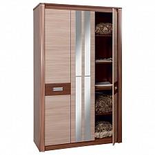 Шкаф платяной Стелла 06.236 ясень шимо темный/ясень шимо светлый