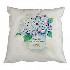 Подушка декоративная (35х35 см) Цветы 703-694-31