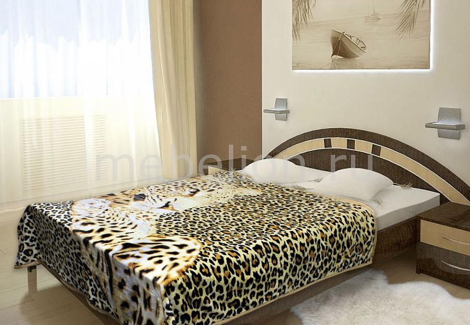 Плед TexRepublic (180х220 см) Leopard плед texrepublic плед яркие цветы 180х220 см