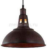 Купить Подвесной светильник 50052/1 патинированный черный, Eurosvet, Китай