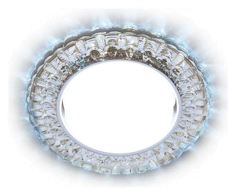 Встраиваемый светильник Ambrella GX53 G315 G315 CL/CLD