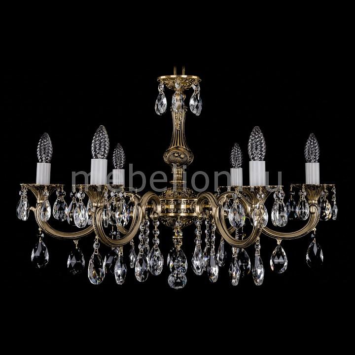 Подвесная люстра Bohemia Ivele Crystal 1702/6/A/GB 1702
