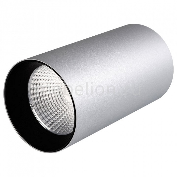 цена на Накладной светильник Arlight Sp-polo-r85 SP-POLO-R85-1-15W Day White 40deg (Silver, Black Ring)