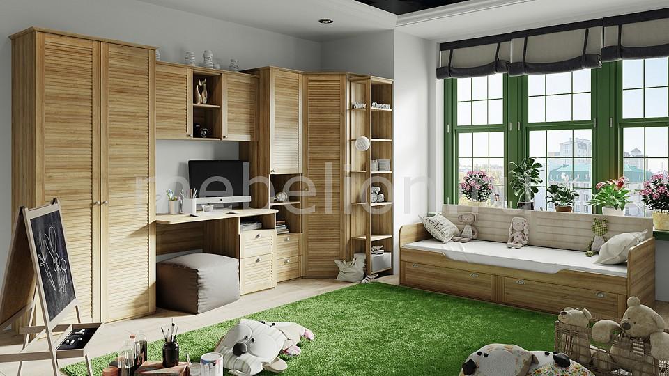 шкаф платяной мебель трия ривьера см 241 07 003 r Гарнитур для детской ТриЯ Ривьера