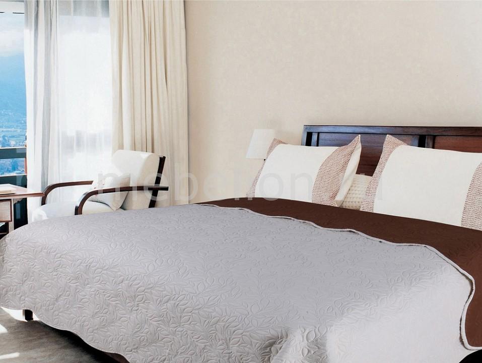 Покрывало евростандарт Amore Mio Alba покрывало amore mio alba цвет бежевый коричневый 200 х 220 см